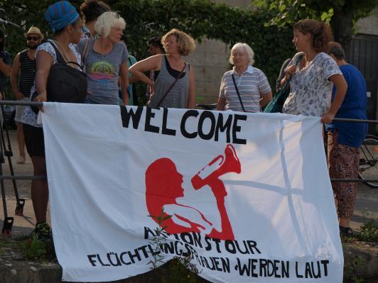 Begrüßung in Bonn
